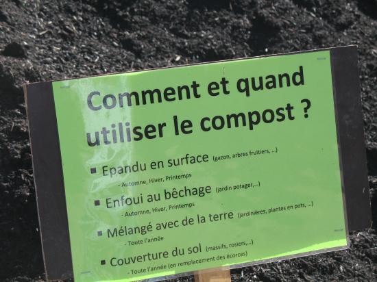 Utilisation du compost
