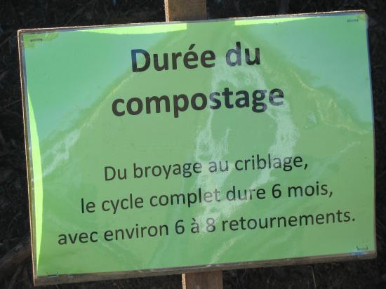 Durée de compostage