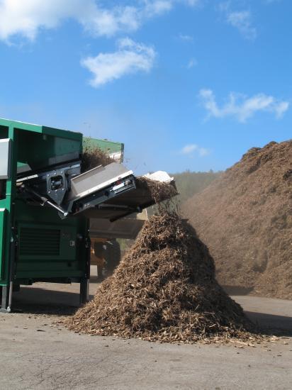 Démonstration de compostage