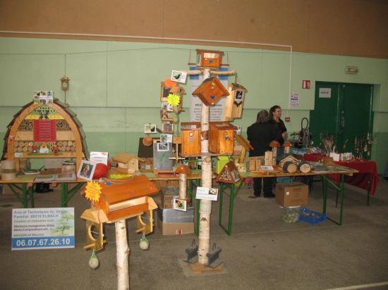 Marché des senteurs et de l'artisanat Morvillars 27 novembre 2011