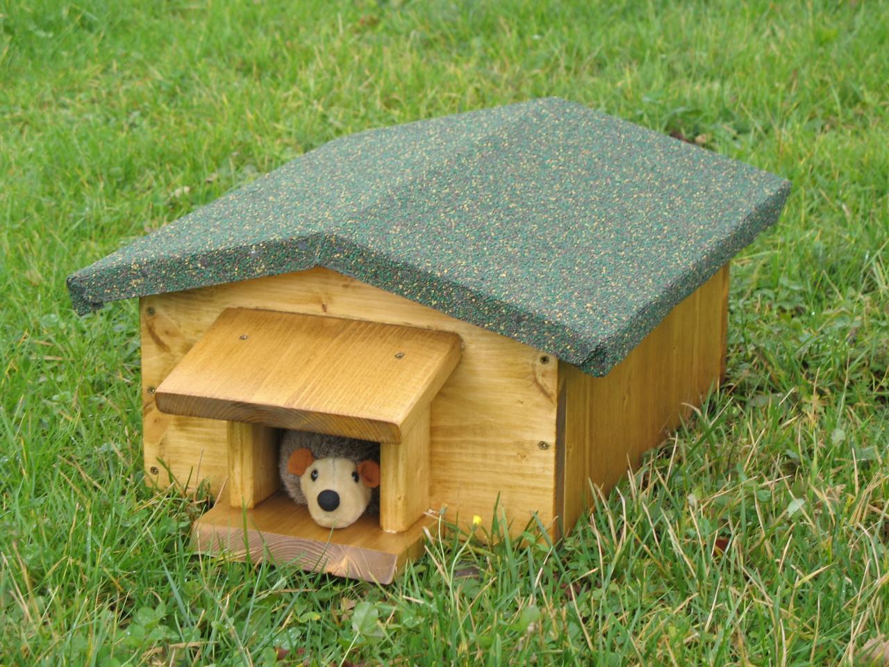 La maison du herisson ventana blog - Abri pour herisson ...